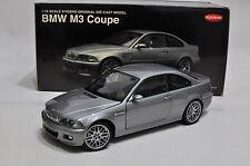 BMW M3 Coupe CSL Rims E46 Silver No.08503S Kyosho 1/18