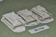 20mm WW2 / german - 3 panzer IV tanks - vehicles (36104)