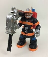 Billy Blazes Firefighter Jackhammer Fisher Price Rescue Heroes Action Figure A6