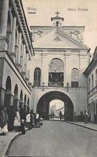 Wilna Vilnius Lithuania Ostra Brama Church Ww1 Military Feldpost Postcard 1917