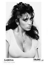 Sabrina Salerno - Sexy Promo Photo BIG SIZE 1987 Samantha Fox  Big Boobs
