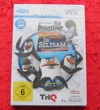 Die Pinguine aus Madagascar: Dr. Seltsam kehrt zurück (Nintendo Wii, 2011, DVD-Box)