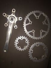 Retro Middleburn Crank Arm Crankset Chainset  Rs7/8 175mm Right Chainrings 5arm