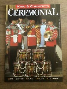 King & Country brochure. Ceremonial. Parade figures