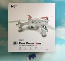 New Hubsan H107D X4 Quadcopter 5.8GHz FPV Drone LCD transmitter Bonus Battery