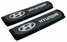 Leather Car Seat Belt Shoulder Pads Covers Cushion For Hyundai 2pcs