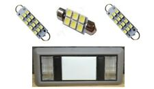 2 Map 1 Dome white LED interior lights for 1988-1998 Chevy Silverado GMC Sierra