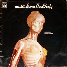 ROGER WATERS / RON GEESIN 'MUSIC FROM THE BODY' UK LP A1/B1 GREEN HARVEST