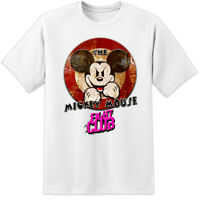 EVIL MICKEY MOUSE FIGHT CLUB TYLER DURDEN DISNEY T SHIRT ( S - 3XL ) BRAD PITT