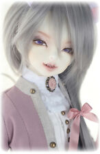 BJD doll 1/4 Cheshire Cat (open mouth) Animal body free eyes +face make up