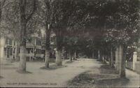 Yarmouthport Cape Cod MA Hallett St c1910 Postcard #4