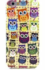 Cartoon Owls Big Eyes Hibou Flexible Back Case Cover for iPhone 6 6S 4.7""