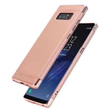 Handy Hülle Full Cover 360° Slim Schutz Case Tasche Etui für Samsung Apple DECC