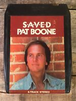 PAT BOONE Saved (8-Track Tape)