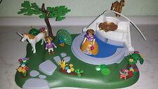 Playmobil 4137 Fairies Zauberfeenland Traumland  Kinderwelt Märchenschlosspark