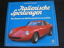 BLV Book Italienische Sportwagen Amtmann / Schrader (Deutsch)