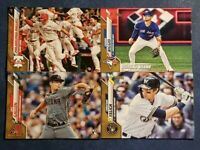 2020 Topps Series 1 GOLD #/2020 Parallels with Rookies You Pick