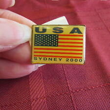 2000 Usa Team Sydney Olympics Pin