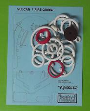 1977 Gottlieb Fire Queen / Vulcan pinball rubber ring kit