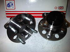 TOYOTA YARIS MK2 2006-11 1.0 1.3 1.8 VVTi 2x BRAND NEW REAR WHEEL BEARING HUBS