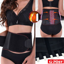 Medical Magnetic Lumbar Lower Back Support Belt Brace Strap Pain Relief Posture