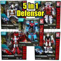 Transformers 5in1 Defensor G1 Autobot IDW Comic Robot Car Kid Gifts Toy In Stock