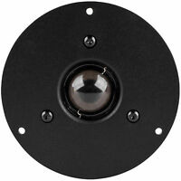"""NEW 4.33"""" Tweeter.Home Audio Shielded replacement Speaker.8 ohm.1-1/8"""" soft dome"""
