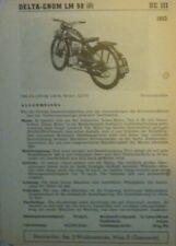 * Delta-Gnom LM 98 1953 Datenblatt  Typenblatt original   *