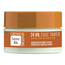 [CREME OF NATURE] COCONUT MILK 24HOUR EDGE TAMER 2.25OZ NATURAL HAIR CONTROL GEL
