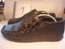 IKON Flipside 2 Portugal Size UK 9 BLACK Leather Shoes