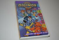 ANIME Digimon Vol. 3: Beware the Black Gears (VHS, 2000) TESTED!! CIB!! DIGIMON
