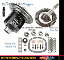 Limited Slip Posi GM Chevy 7.6 Motivator 4.11 Ring Pinion Gear Set Koyo Install