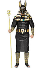 Brand New Egyptian Ancient God Pharoah Anubis Plus Costume