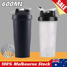 Plastic Sport Gym Protein Powder Shaker Mixer blender Drink Portable Bottle