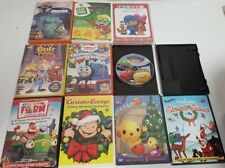 DVD Lot Children's learning Movies Bob the Builder, Thomas & Friends, George
