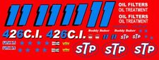 #11 Buddy Baker STP Petty Dodge 1971 1/24th - 1/25th Scale Decals