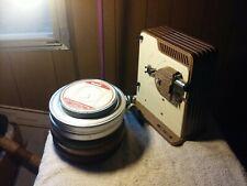 Vintage 1950-60's Brumberger Thunderbird #1500 8mm Movie Projector plus 5 reels