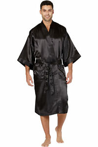 Intimo Mens Classic Satin Robe