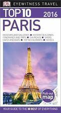 DK Eyewitness Top 10 Travel Guides PARIS FRANCE pocket book traveling Europe