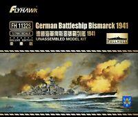 Flyhawk 1/700 FH-1132S WWII German Battleship Bismarck 1941 (Deluxe Edition)