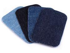 10 x Jeans Bügelflicken 7,6 x 4,9 cm