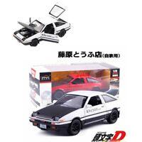 1:32 New Initial D Toyota AE86 Trueno Alloy Diecast Model Sprinter Drift Car Toy