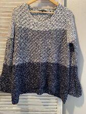 Funsport Bell Sleeve Knit Sweater Medium