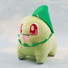 Pokemon Animal Gift Souvenir Plush Stuffed Toy Doll Soft Chikorita Game