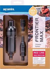 Aquamira Frontier Max 120gal Survival Water Filter - IV Red Line