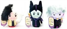 Hallmark Disney Villains Cruella De Vil Maleficent Ursula Itty-Bittys Bitty Set!