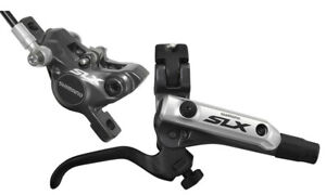 New Shimano SLX M675 Hydraulic Disc Brake Rear Silver Black 1500mm Hose