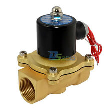 """2 way Solenoid Valve NPT Direct Operation 1"""" DC 24V Air Gas Normally Closed"""