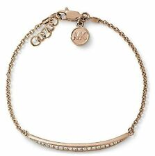 Michael Kors MKJ3508791 Damen Armband Edelstahl Rosé mit Zirkonia Besatz