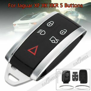 Remote Key Fob Shell Case Cover for JAGUAR XF 2009-2012/ XK XKR 2007-2011 2012